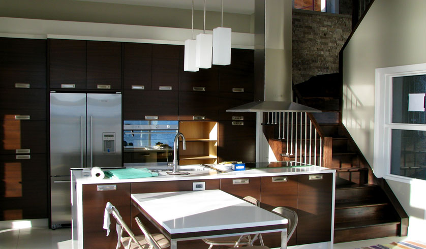 Contemporary remodeling a kitchen