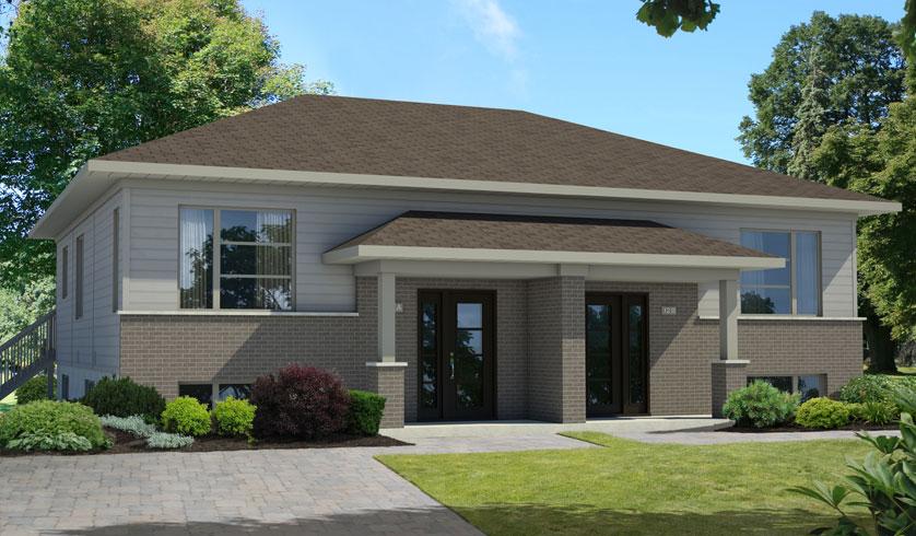 Great bois valblair bungalow jumel with construire une for Avant de construire une maison